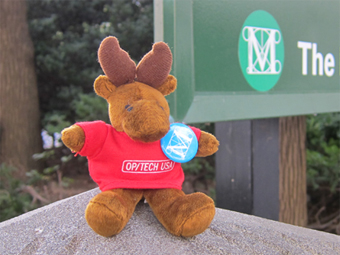 Myles the Moose in New York