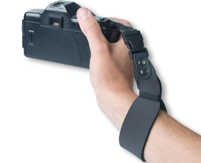 SLR Wrist Strap in Black