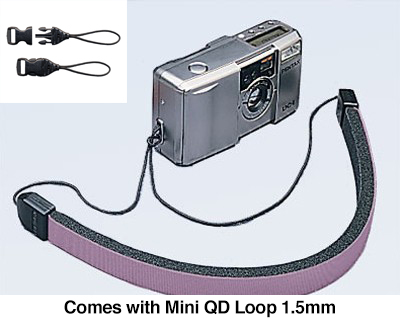 Mini Loop Strap in Lilac